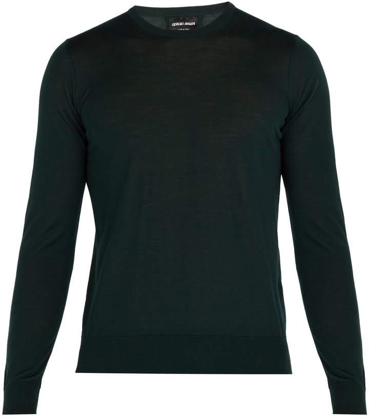 Giorgio Armani Fine-knit wool sweater