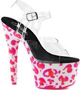 Pleaser USA Women's Bejeweled 708UVLP Ankle-Strap Sandal