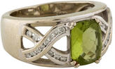 Ring Peridot & Diamond