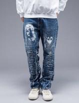 SAM by Warren Lotas Faded Blue Jeans Style C (Size 32)