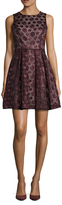 Susana Monaco Nina Lace Pleated A Line Dress