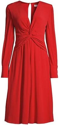 Equipment Faun Twist-Knot Dress