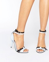 Little Mistress Contrast Strap Heel Sandal