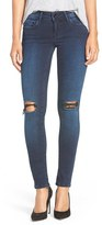 Mavi Jeans Women's Gold 'Serena' Ripped Stretch Skinny Jeans