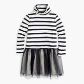 J.Crew Girls' turtleneck tulle dress