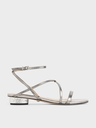Charles & Keith Leather Strappy Sandals