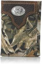 Ariat Men's Deer Concho Bonz Tri-Fold