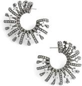 Nadri &Liliana& Cubic Zirconia Hoop Earrings