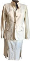 Fay Beige Linen Jacket for Women