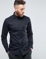 Selected Longsleeve Slim Shirt in Print
