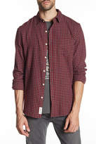 Lucky Brand Ballona Patch Pocket Classic Fit Plaid Shirt