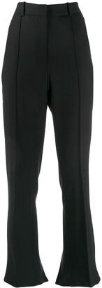 Rokh Raised Seam Bootcut Trousers