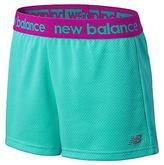 New Balance Girls Performance Core Shorts Green