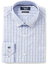 Original Penguin Heritage Slim-Fit Button-Down-Collar Checked Dress Shirt