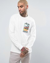 Stussy Long Sleeve T-Shirt With Graphic Print