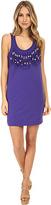 Love Moschino Beaded Fringe Sleeveless Dress Women's Dress