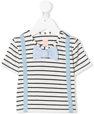 Wauw Capow Louis striped T-shirt