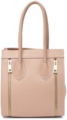 Persaman New York Sherri Front Zipper Accented Handbag