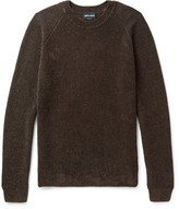 Giorgio Armani - Mélange Ribbed-knit Sweater
