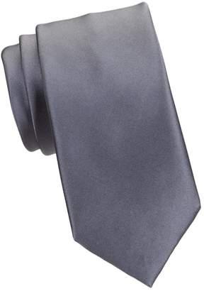 Brioni Solid Satin Silk Tie