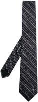 Alexander McQueen safety pin printed tie - men - Silk/Acetate/Cupro - One Size