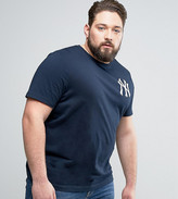Majestic Plus New York Yankees Longline T-Shirt