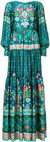 Black Coral floral print dress