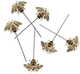 Joanna Buchanan Bee Cocktail Picks, Set of 6