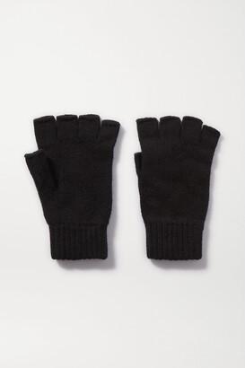Johnstons of Elgin + Net Sustain Cashmere Fingerless Gloves