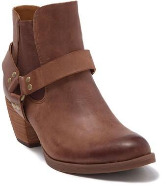 KORKS Cyanna Leather Harness Boot