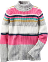 Carter's Striped Turtleneck Sweater