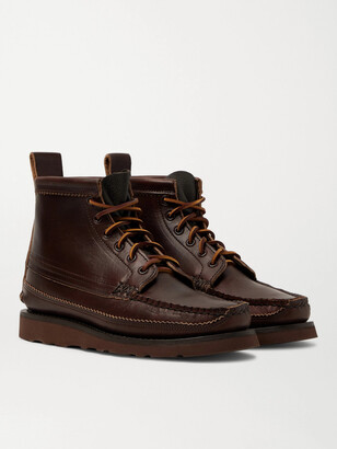 Yuketen Maine Guide 6 Eye Smooth And Full-Grain Leather Boots