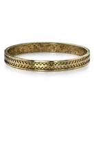 Low Luv by Erin Wasson Zig Zag Bangle in Gold