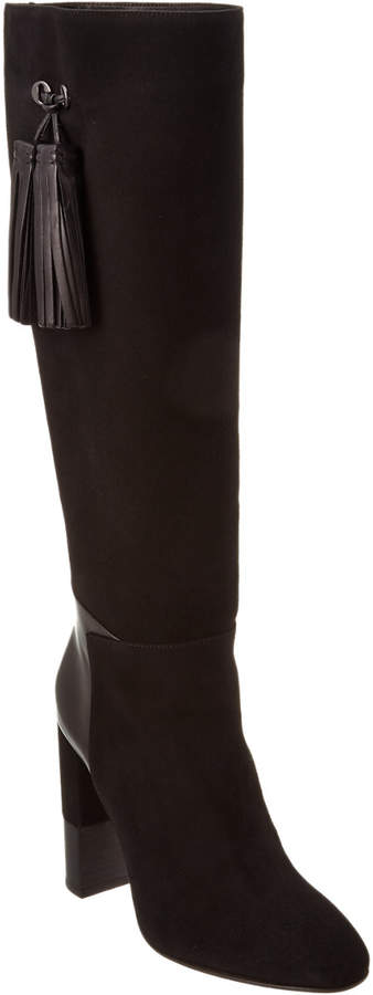 Aquatalia Evelina Waterproof Leather & Suede Boot