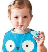 Skip Hop Zoo Toddler Utensil Set - Owl