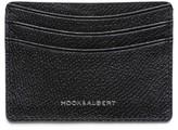 hook + ALBERT Men's Leather Card Case - Black