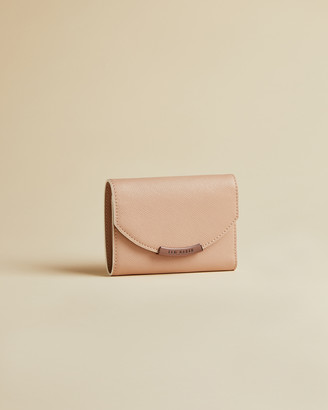 Ted Baker INEEZ Leather flap small purse