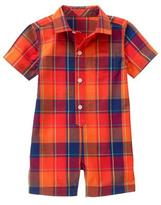 Gymboree Plaid One-Piece