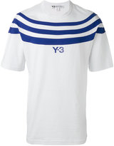 Y-3 striped T-shirt - men - Cotton - M