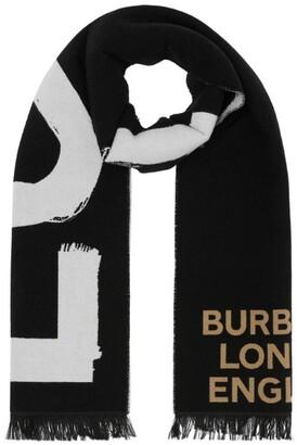 Burberry Wool-Silk Scarf