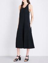Joseph Penn stretch-crepe midi dress