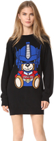 Moschino Transformers Bear Sweater Dress