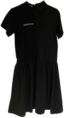 Alyx Black Polyester Dresses
