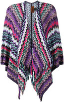 Missoni zig zag crochet knit cardigan - women - Cotton - One Size