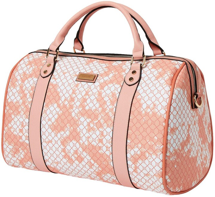 Thumbnail for your product : River Island Monogram Tie Dye Barrel Bag