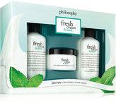 philosophy fresh cream and mint Trio