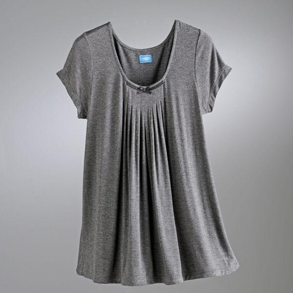 Vera Wang Simply vera basic luxury pajama separates