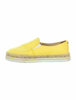 Jimmy Choo Espadrilles Yellow