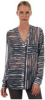 Rachel Roy Two Pocket Shirt (Indigo) - Apparel