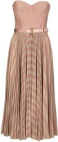 Elisabetta Franchi Celyn B. Sleeveless Dress With Belt